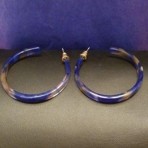 Atelier Sona Jewelry - Acrylic Hoop Earrings
